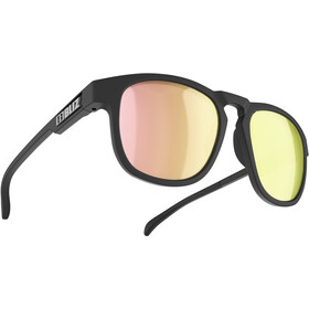 Bliz Ace Okulary, matte rubber black/smoke/rose-gold multi